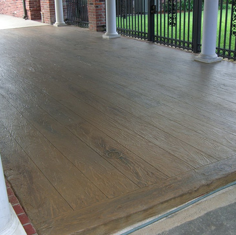 Hallmark Floor System_Wood Look Application_Patio Floor
