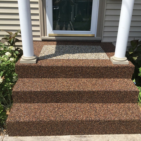 Natural stone-Entrance