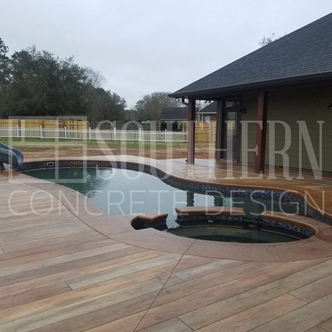 Hallmark Floor System_Wood Look Application_Pool Deck