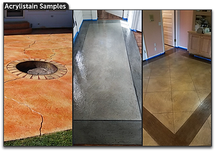 Decorative Concrete Acrylistain