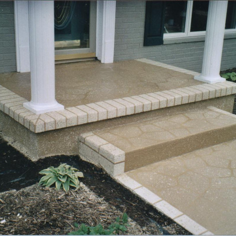 Decorative Concrete_Entrance