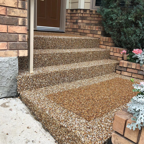 Natural stone-Entrance-Stairs