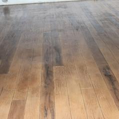 Hallmark Floor System_Wood Look Application_Basement Floor