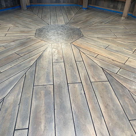 Hallmark Floor System_Wood Look Application_Indoor Floor