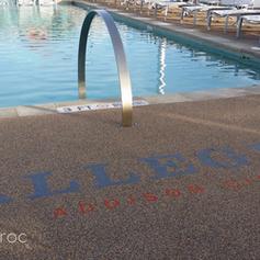 Public Pool Deck
