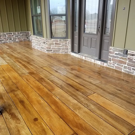 Hallmark Floor System_Wood Look Application_Porch Floor