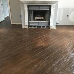 Hallmark Floor System_Wood Look Application_Living Room Floor