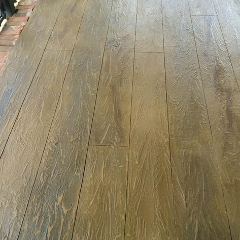 Hallmark Floor System_Wood Look Application_Porch Floor