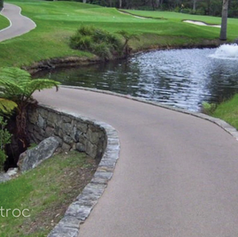 Soft Golf Course Cart Path