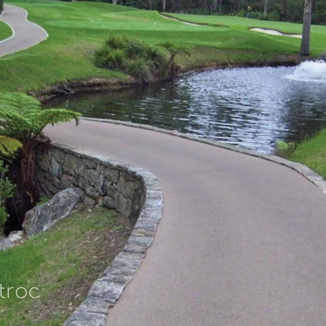Soft Golf Course Cart Path