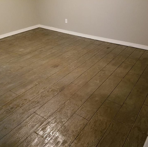 Hallmark Floor System_Wood Look Application_Bedroom Floor