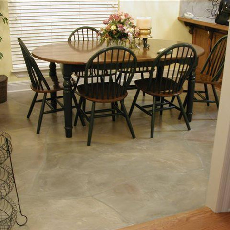 Stone Classic Floor System_Flag Stone pattern_Dining Room Floor