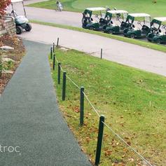 Soft Golf Course Sidewalk