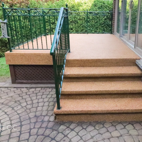 Rubber Granules_Porch Floor