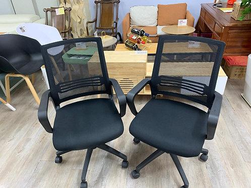 二手辦公室黑色電腦網椅