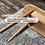 Thumbnail: 橡木實木長餐椅 Oak Wood Bench