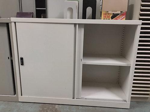 二手兩層鐵文件櫃(有鑰匙)Secondhand file cabinet (with key)