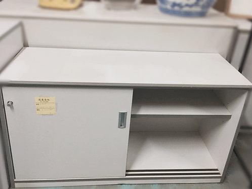 二手兩層文件櫃(多尺寸)有鑰匙