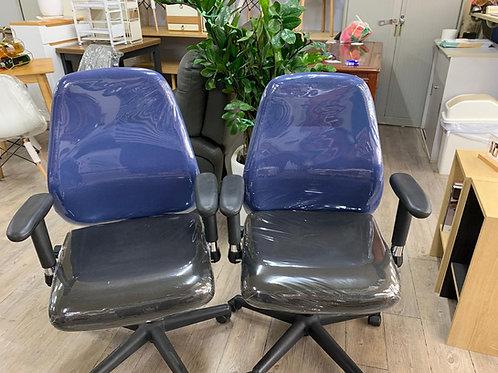 二手電腦椅(藍黑色)