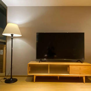 日式玻璃實木電視櫃