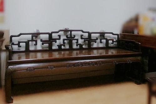 古物酸枝鉤床 (價格另洽)(已售)