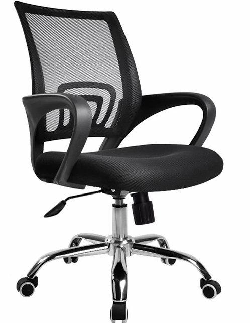黑色人體工學電腦椅 可升降