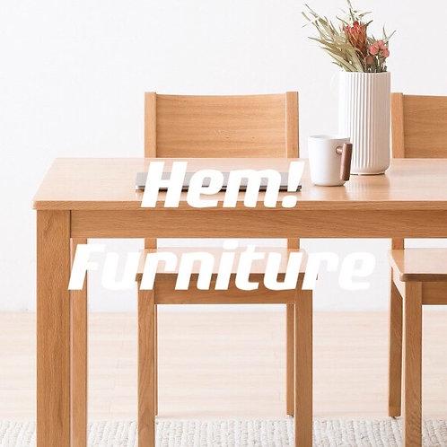 日式橡木餐桌