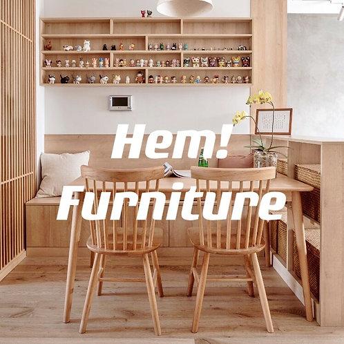 泰國橡膠木溫莎椅