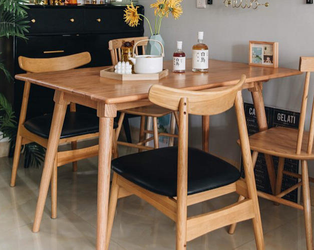 雙邊可摺疊餐桌