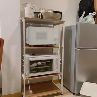 可拉出廚房電器架