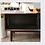 Thumbnail: Hem! 日式壓花玻璃實木電視櫃 150CM