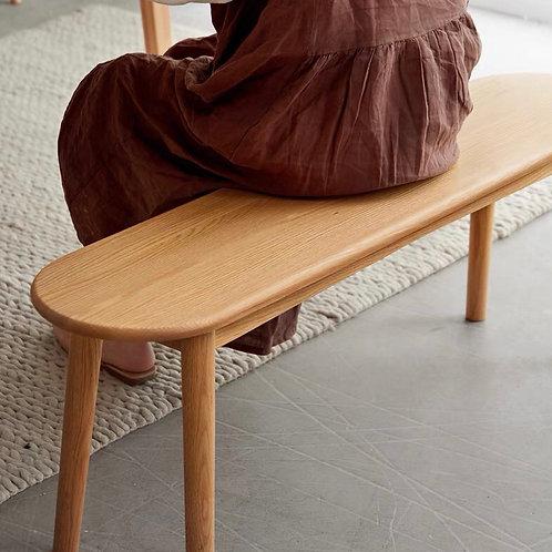 橡木實木長餐椅 Oak Wood Bench