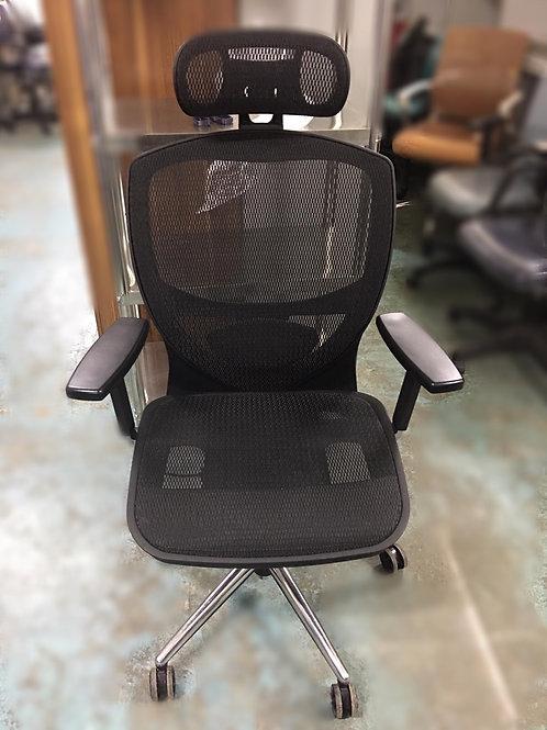 二手台灣ELEGANT人體工學網布椅
