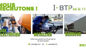 Recherche aide électricien, métallier, bardeur sur Carcassonne