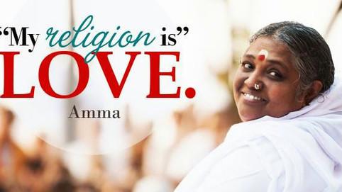 Minha religião é o AMOR!