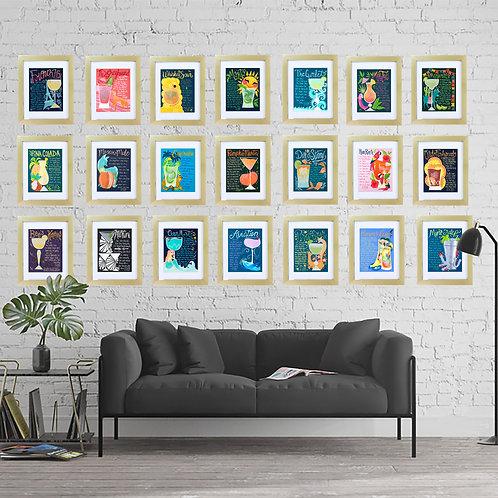 Art Print BUNDLE! Contains 21 Prints!!
