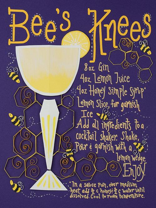 Art Print: Bees Knees