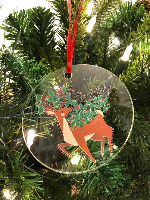 Haul Out the Holly Reindeer Ornament