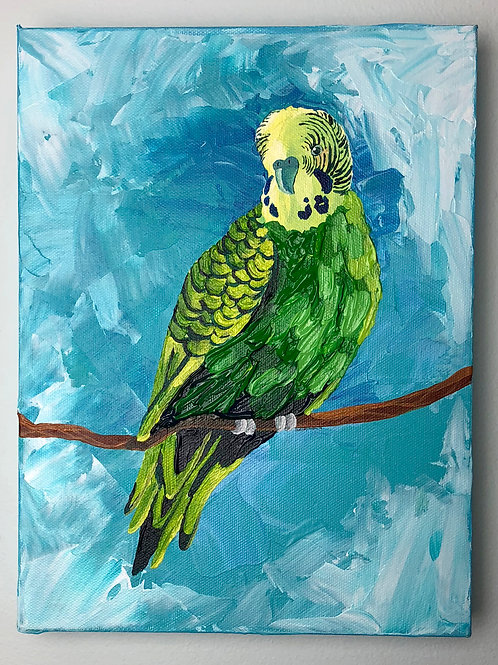 ORIGINAL PAINTING - Pretty Bird