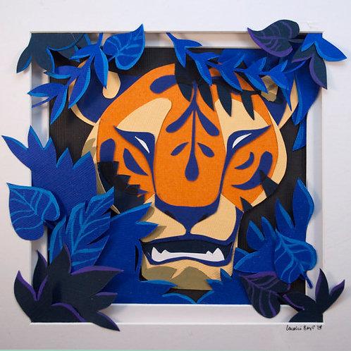 Original Art: Hidden Tiger