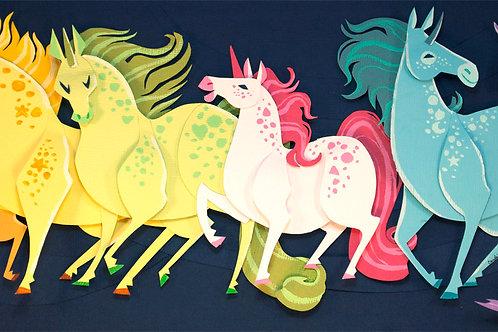 Art Print: Unicorns