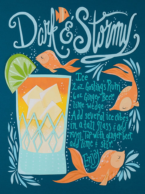 Art Print: Dark and Stormy
