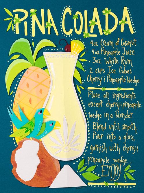 Art Print: Pina Colada