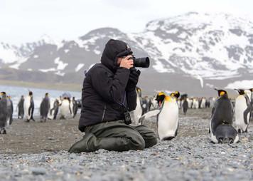 Fotoğrafçı doğayı çekerken, doğa da fotoğrafçıdan çeker oldu.