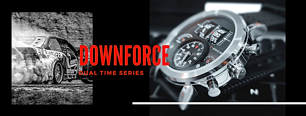 T-ENGINE drum roller watch fownforce