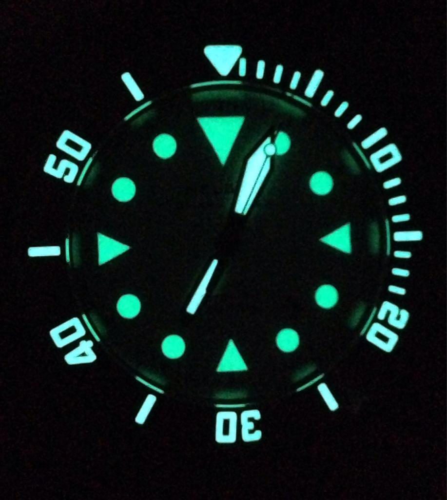 Super Luminova Completed Watches