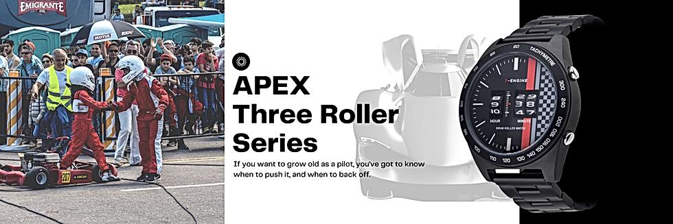 APEX _ T-ENGINE Drum Roller Watch _ Thre