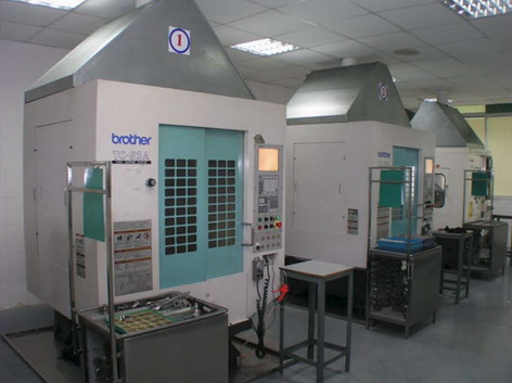 In-House CNC Machines