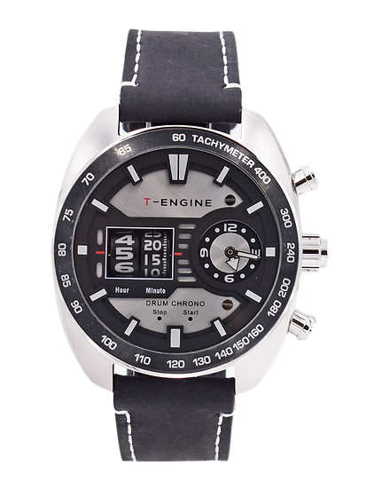 Specter - White Dial - T-ENGINE Multi-Function Roller Watch