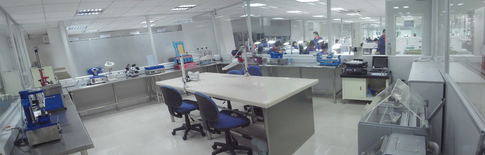 In-House Testing Room